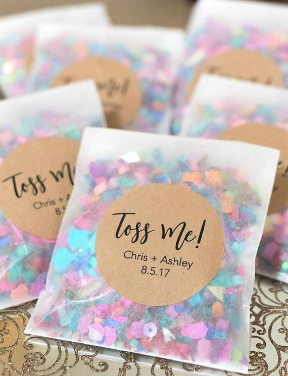 Wedding Confetti, Wedding Confetti Bags, Confetti Toss, Wedding Confetti Poppers, Confetti Throw