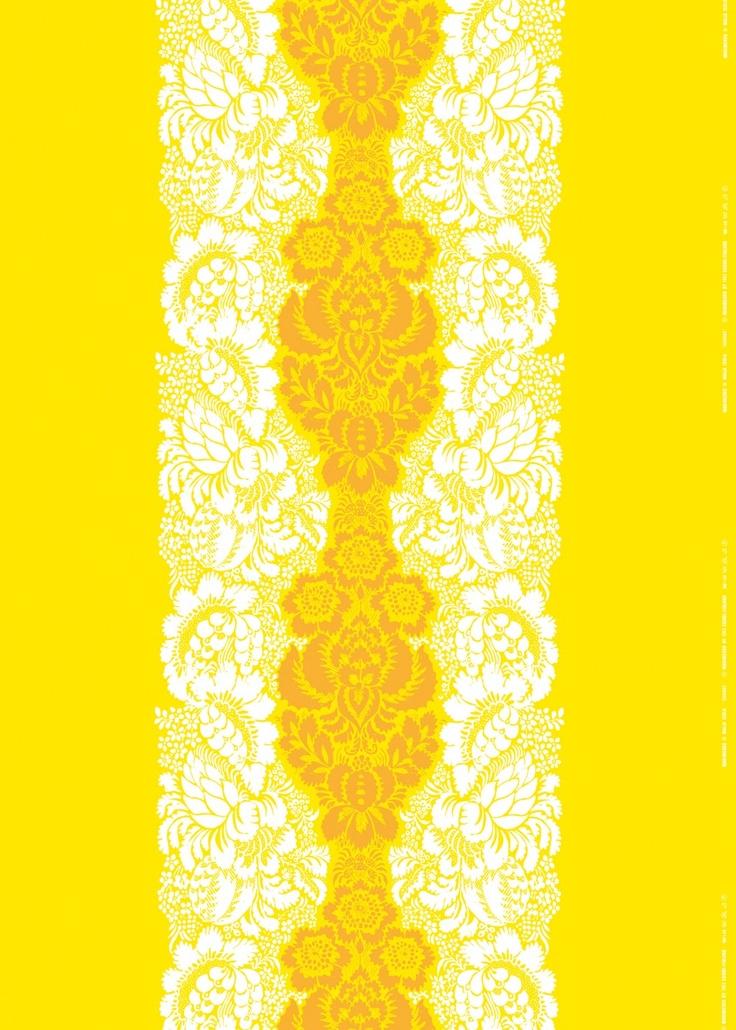 Ananas fabric by Marimekko
