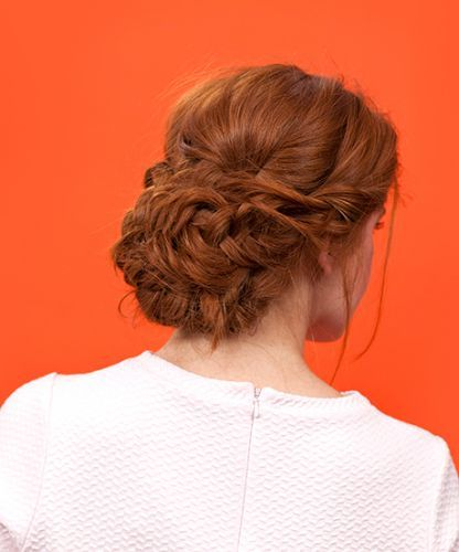 How to get the perfect loose updo — and not worry about it falling out