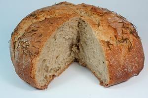 Pan de cerveza de miel