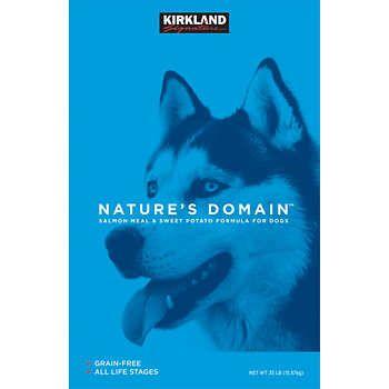 Kirkland Signature™ Nature's Domain™ Salmon Meal & Sweet Potato Dry Dog Food 35lb Bag