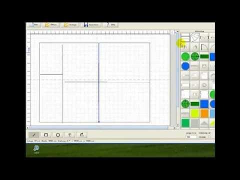 grundriss zeichnen, erstellen, bearbeiten Software