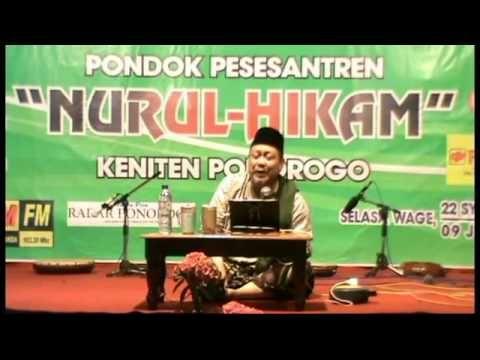 KH. IMRON JAMIL : Haflah Akhirussanah Pon. Pes. NURUL HIKAM KENITEN PONOROGO   Pengajian Akbar