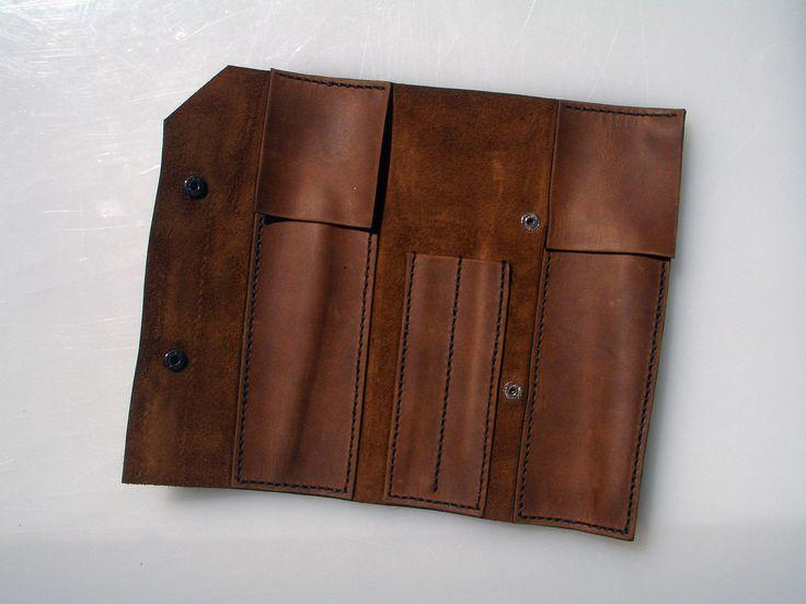 ✖ Кожаный пенал ручной работы ✖ ✖ Leather pencil case handmade ✖