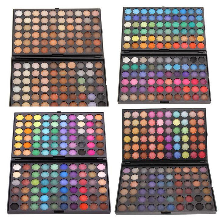 120 Kleur Mode Oogschaduw Palet Cosmetica Oog Make Up Tool Up Oogschaduw Palet Oogschaduw Set paleta de maquiagem
