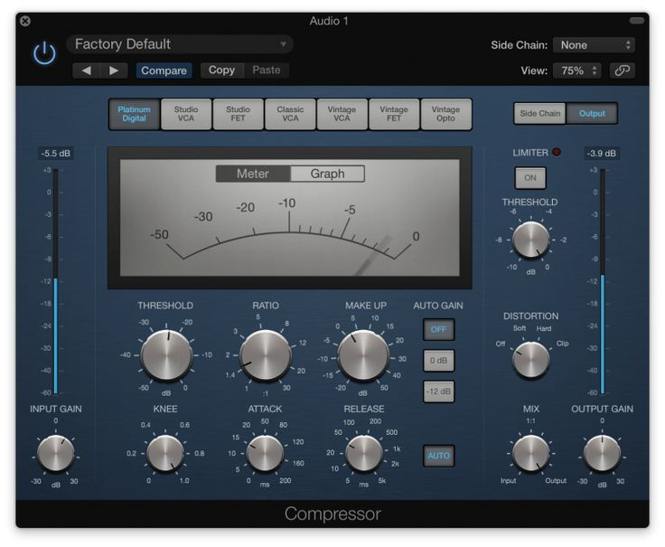 Vocal Compression Learn How to Mix Like the Pros Logic
