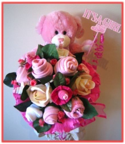 Baby Gift Baskets Victoria : Images about baby clothes bouquets on
