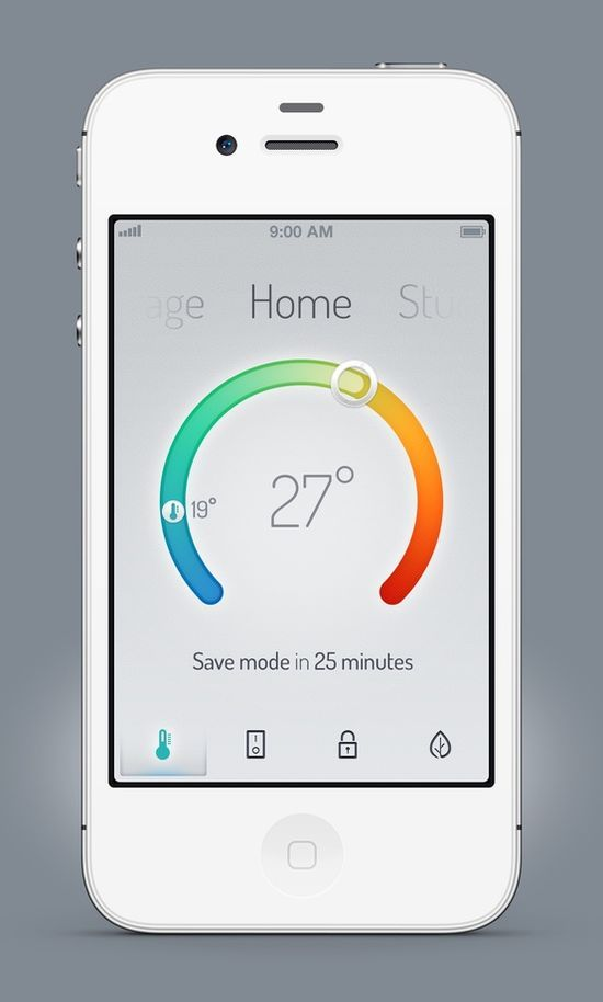 E-home Automation By Design Part - 49: Home Climate Automation App For Viva Home By Anton Kudin