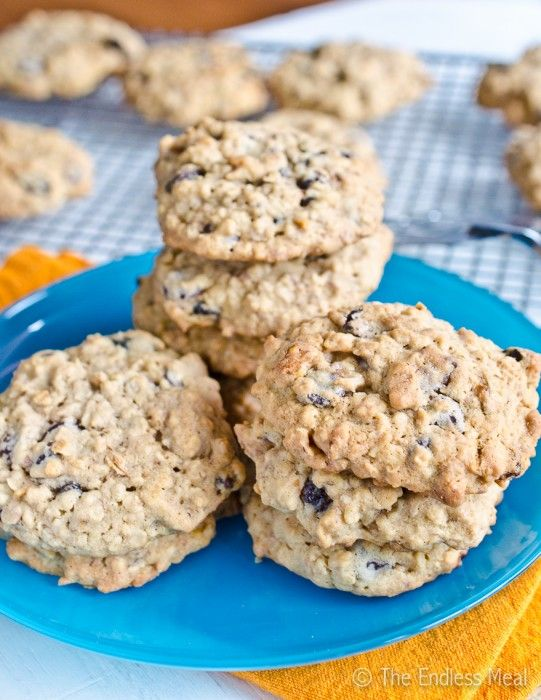 Healthy Breakfast Cookies by KRISTEN. So excited about a new breakfast idea to make for my hungry toddler! :)