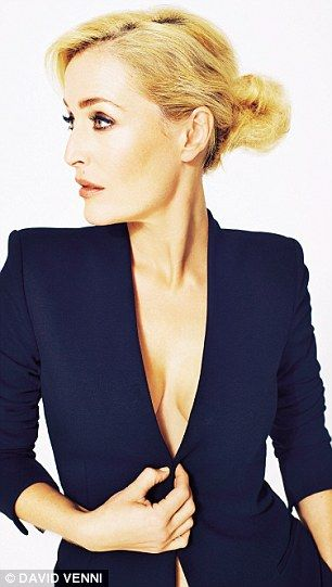 Gillian Anderson photographed by David Venni.
