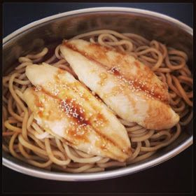 Nat's Thermomixen in the Kitchen: Teriyaki Style Fish & Udon Noodles with steamed veggies | Thermomix Recipes
