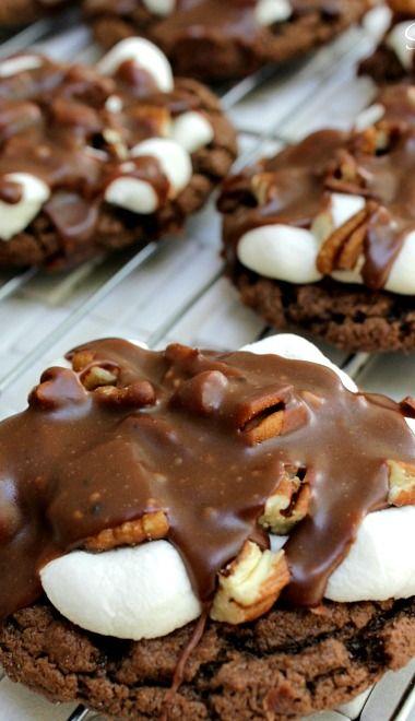 Mississippi Mud Cookies!!!!!!!!!!!!!!!!!!!!!!!!!!!!!!!!!!!!!!!!!!!!!!!!!!!!!!! http://www.pinterest.com/rjtatum/fabulous-desserts/