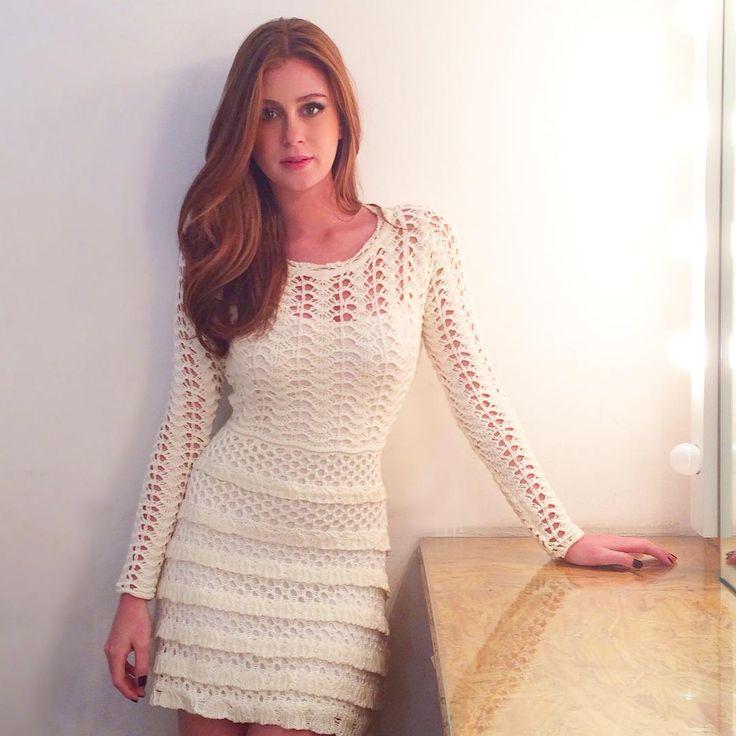 Eu adoro as roupas da @galeriatricot! São lindas e confortáveis! Apaixonada por esse vestido... Fofo né?
