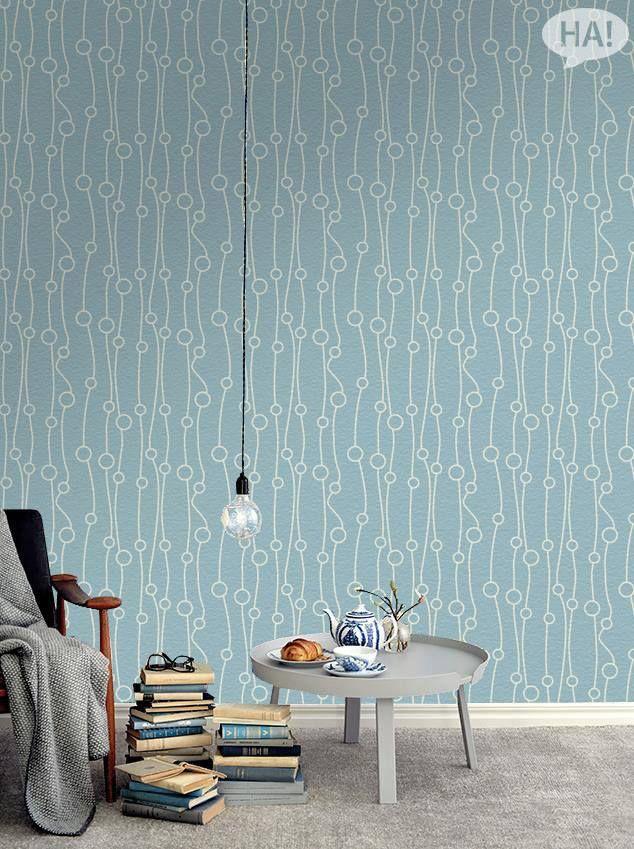 Ρομαντικό σιέλ!  Ταπετσαρίες τοίχου: http://www.houseart.gr/select_use.php?id=281&pid=11541  #houseart #ταπετσαρίες #αυτοκόλλητα_τοίχου #παραβάν #πίνακες #φωτιστικά #ρολοκουρτίνες #stickers #dividers #canvas #lights #roller #wallpapers