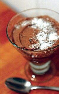 Avacado Chocolate Mousse