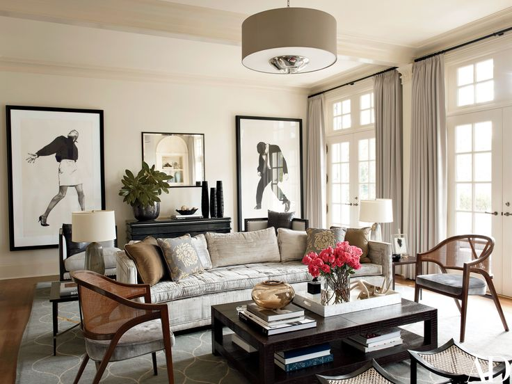 Russell Groves Gives a North Carolina Home a Dramatic Makeover Photos | Architectural Digest