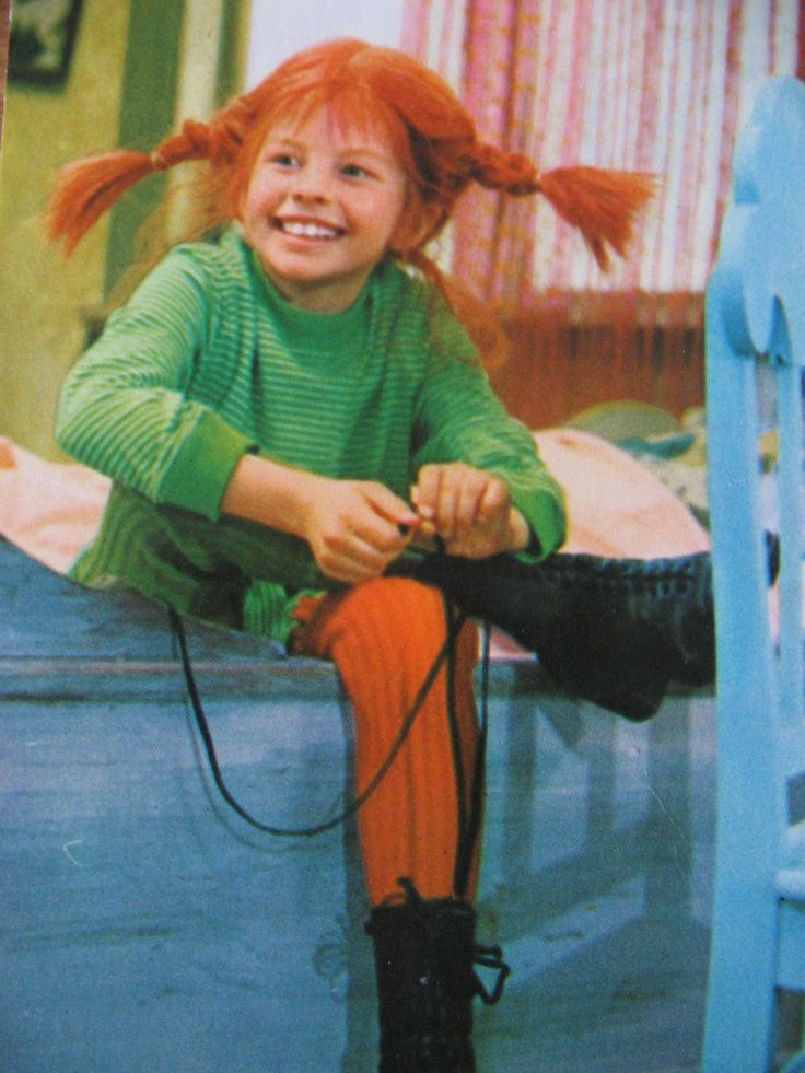 Pippi.- my kids loved her but she was a bad influence on them. always into something!