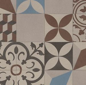 Victorian Mosaic Tile Vinyl Sheets And Tile Design On Pinterest