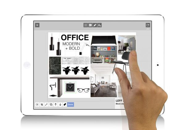 "Morpholio-Board-Mobile-App-Interior-Design-5""Morpholio Board is a mobile app that lets designers and creatives (and anyone else) lay out mood boards, design ideas, and collages with super cool and professional features."""
