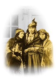 Graphical element: Mi'kmaq women