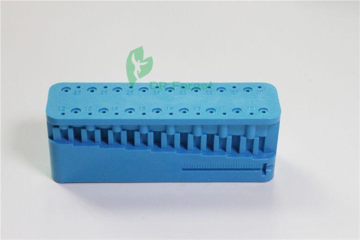 Dental Lab Endo Measuring Block Autoclavable Endodontic Dentist Instrument 1Pc