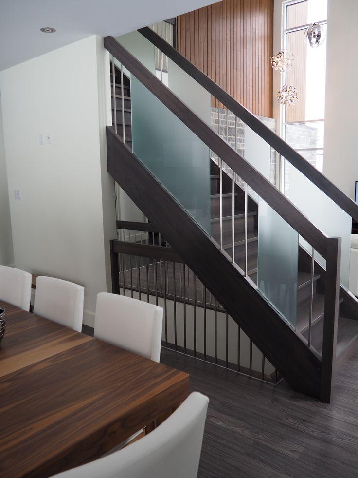Les 25 Meilleures Id Es Concernant Escalier En Bois Franc Sur Pinterest Escalier R Novation
