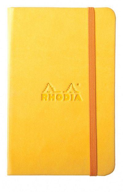 RHODIA Rhodiarama Yellow Lined 90 g 96 sh 3 ½ x 5 ½
