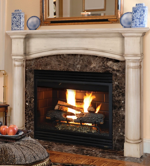 pearl mantels 550 richmond mdf fireplace mantel in white