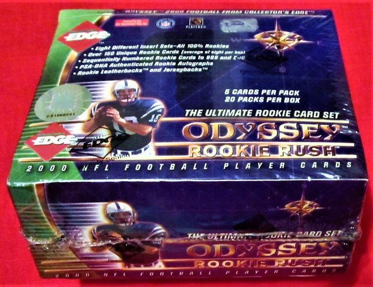 2000 Collectors Edge Odyssey HOBBY Box Football PSA Autograph ? Leatherbacks ?+?