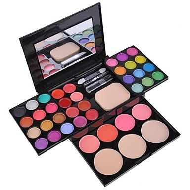 EyeShadow 39 Colors Makeup Palette Kit Foundation Powder Blusher Cosmetic Lipstick  Tools SV000822 – USD $ 9.99