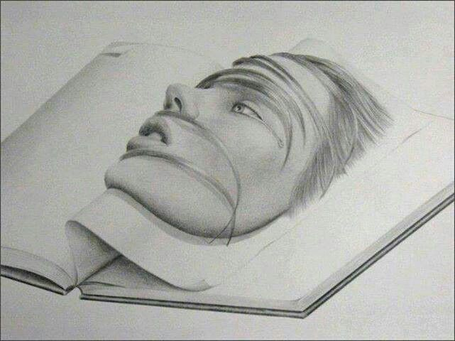 71 best 3D Sketches & Paper Art images on Pinterest