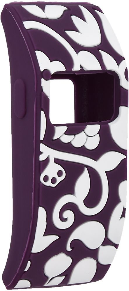 French Bull - Vines Sleeve for Fitbit Charge / Fitbit Charge HR - Plum / White (Purple/White)