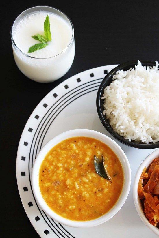 Moong Dal Fry - Yellow Split Moong dal Recipe  - pressured cooked, Gluten Free, Vegan