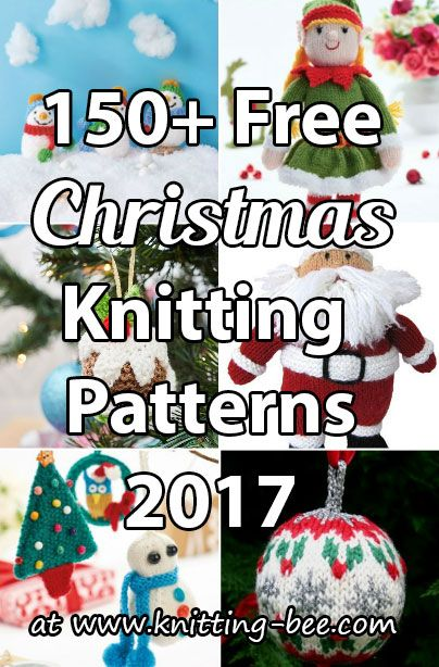 Free Christmas Knitting Patterns Knitting Pinterest Christmas