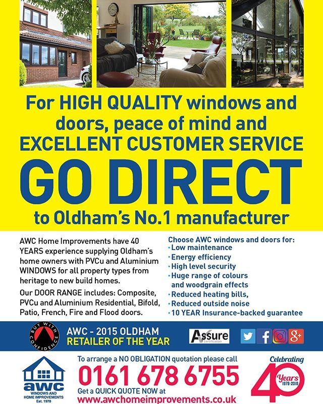 Windows Doors Conservatories No 1 On Oldham Call 0161 678 6755