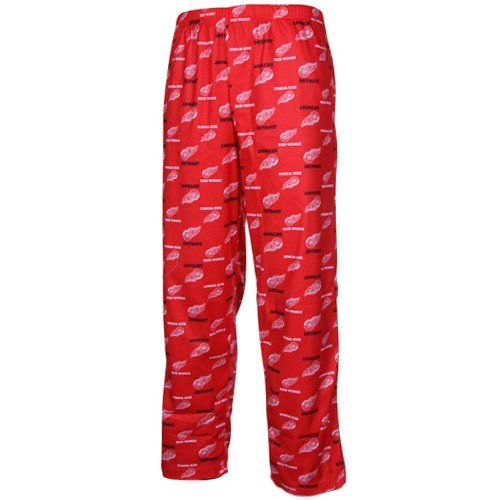Detroit Red Wings Youth NHL Logo Pajama Pants  https://allstarsportsfan.com/product/detroit-red-wings-youth-nhl-logo-pajama-pants/  100% polyester Elastic waistband Made by Outerstuff