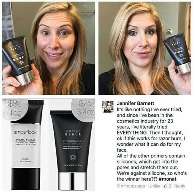 Hey #makeup users, and lovers! #Monat Aftershave Moisturizer works as a primer for your make-up! Professional #MUAs are discovering and using amazing our products. #love #Monat #Entrepreneur #Instagay #fun #menshair #followme #shampoo #hair #cars #salon #straighthair #haircare #hairstyle #grooming #hairstyle #healthyhair #sulfatefree #parabenfree #naturallybased #nontoxic #crueltyfree