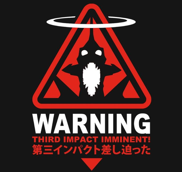 Third Impact Warning $11 Evangelion tee at RIPT today only!