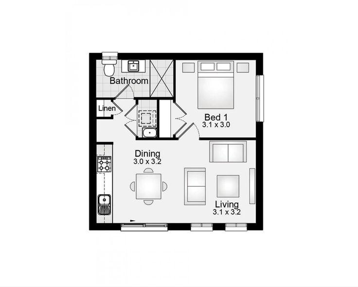 9 best new build floor plans images on pinterest floor for Floor plan granny flat