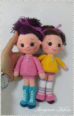 Pour lamour de mes jouets Amigurumi Tricot: tricot Amigurumi Amigurumi Doll Pretty girls-