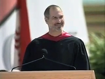 At his #Stanford University commencement speech, #Steve Jobs, CEO and co-founder of #Apple and #Pixar, urges us to pursue our dreams and see the #opportunities in life's setbacks -- including death itself.    As CEO of Apple, Steve Jobs spearheaded a few of the most #iconic products in #technology, #entertainment and #design.