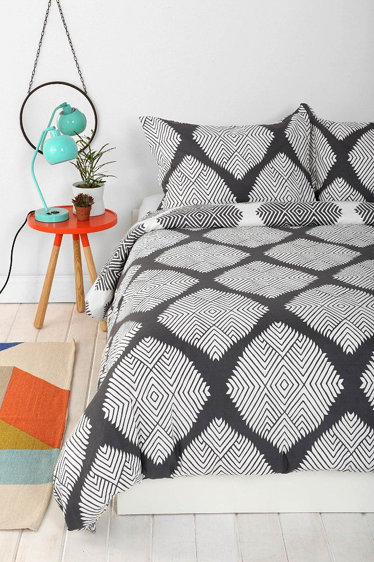 Magical Thinking Diamond Tile Duvet Cover - Urban Outfitters