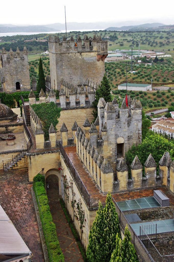 Castillo de Almodóvar del Río is a castle of Muslim origin in the town of Almodóvar del Río, Córdoba, Spain. Previously a Roman fort, the current structure has Berber origins, from the year 760.