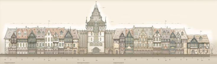 Raveleijn - arena side. Fantastic theming thanks to detailed designs by Sander de Bruijn. (Efteling)