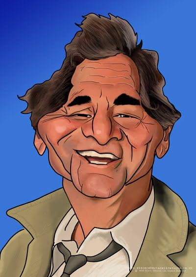 Celebrity Caricatures | Steve Roberts' Caricatures.: Just one More thing .....