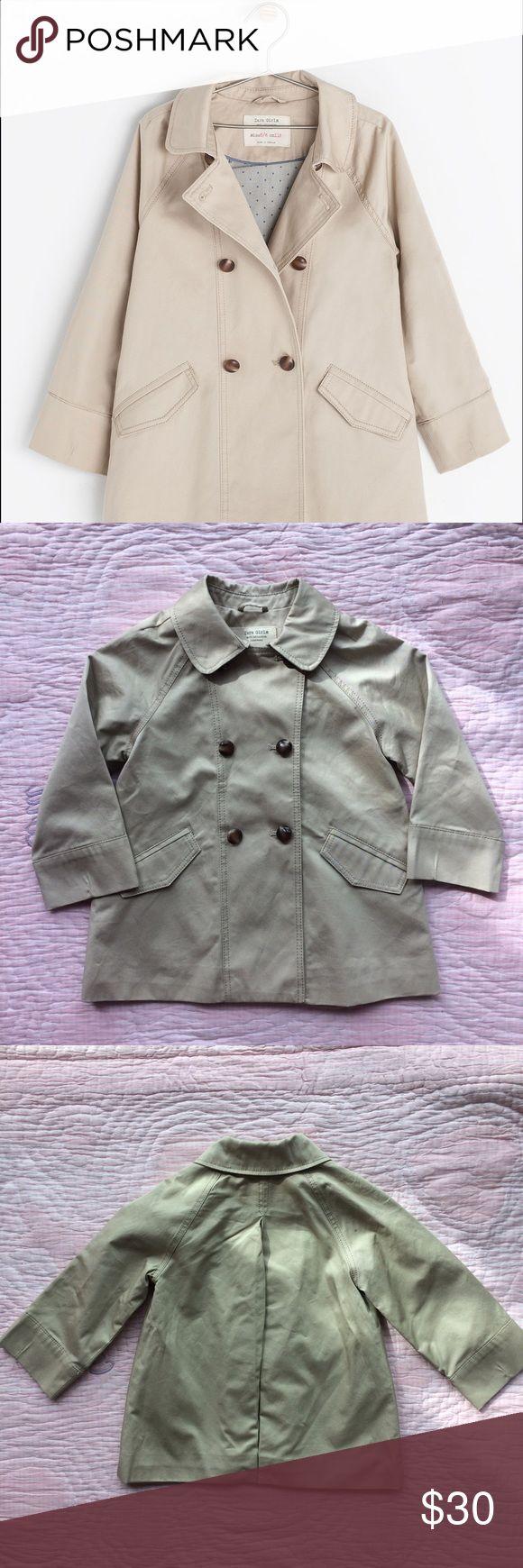 Zara girl trench coat Beautiful trench coat by Zara. Size 3/4 years. Excellent condition, as new. Zara Jackets & Coats Pea Coats