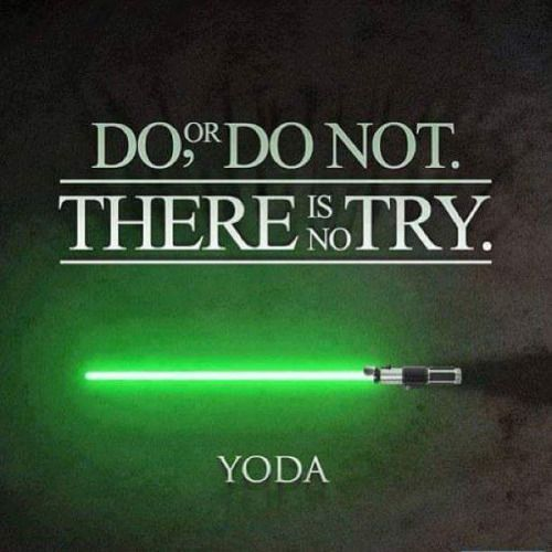 Star Wars: Yoda Quote