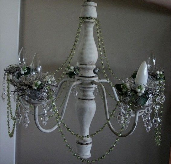 shabby chic chandelier after originally uploaded by shabby chics in real life i work full time and am back at school again plus i have a - Shabby Chic Chandelier