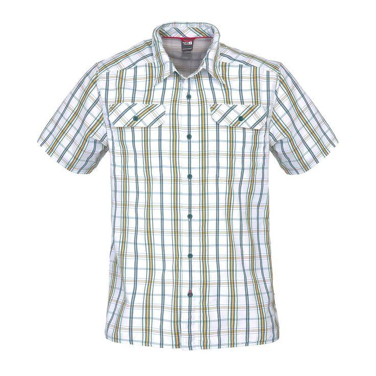 Das The North Face Pine Knot S/S Shirt ist ein leichtes und atmungsaktives Hemd, welches bestens für Tageswanderungen geeignet ist.  Supplex: Vereint die angenehmen Trageeigenschaften von Baumwolle mit denen moderner Funktionsfasern. Dieses Material ist farbecht, formstabil, schnelltrocknend...  • Zusatzinformation: - Supplex - Abriebfest - Netzeinsätze unter den Armen und Seiten - Sonn...