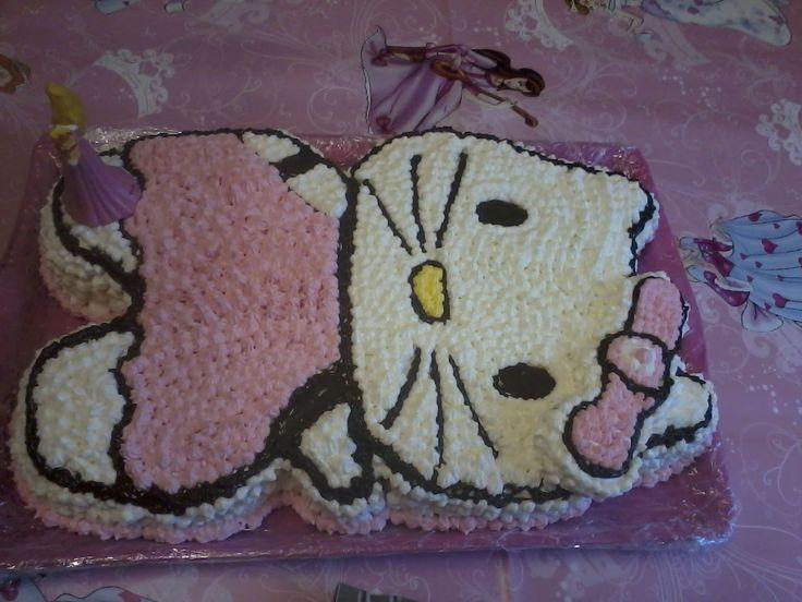 Karina unokám ötödik szülinapjára készítettem ezt a tortát